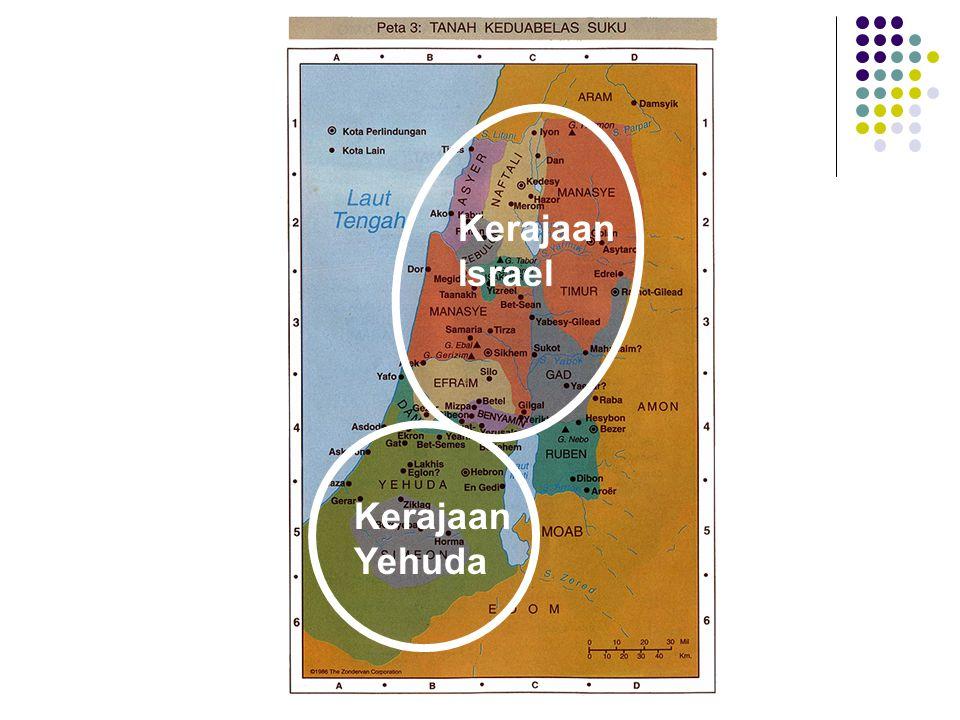 Kerajaan Yehuda Kerajaan Israel