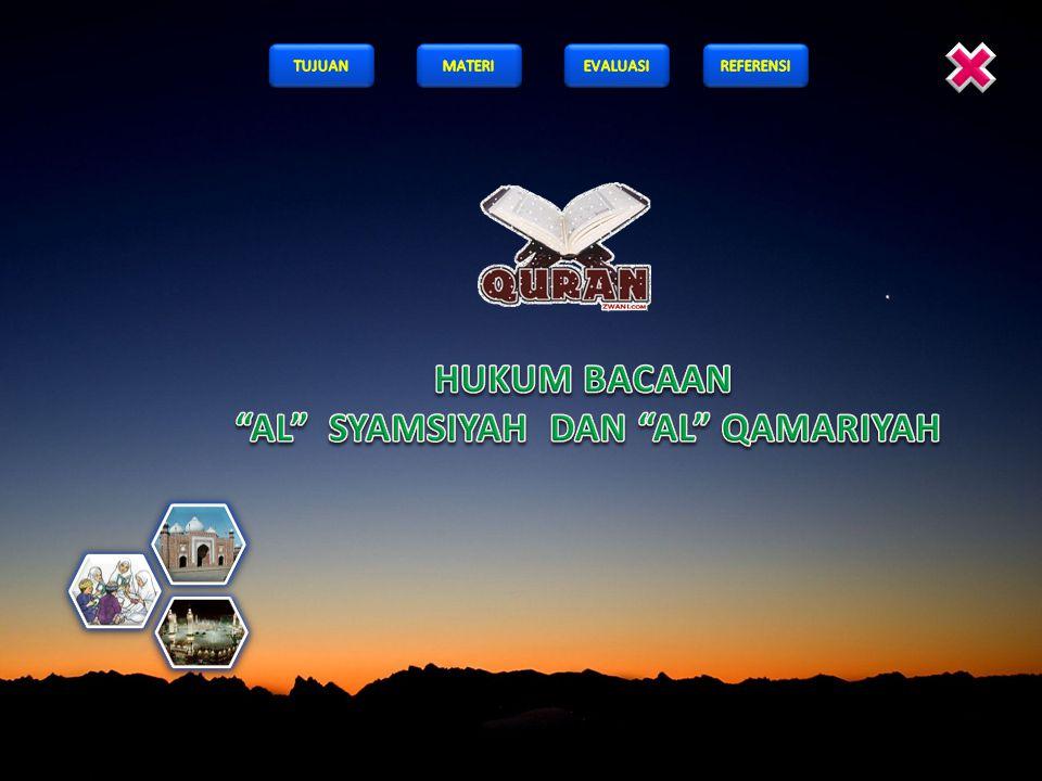 2. Yang termasuk huruf-huruf Al Syamsiyah adalah …. a bcd