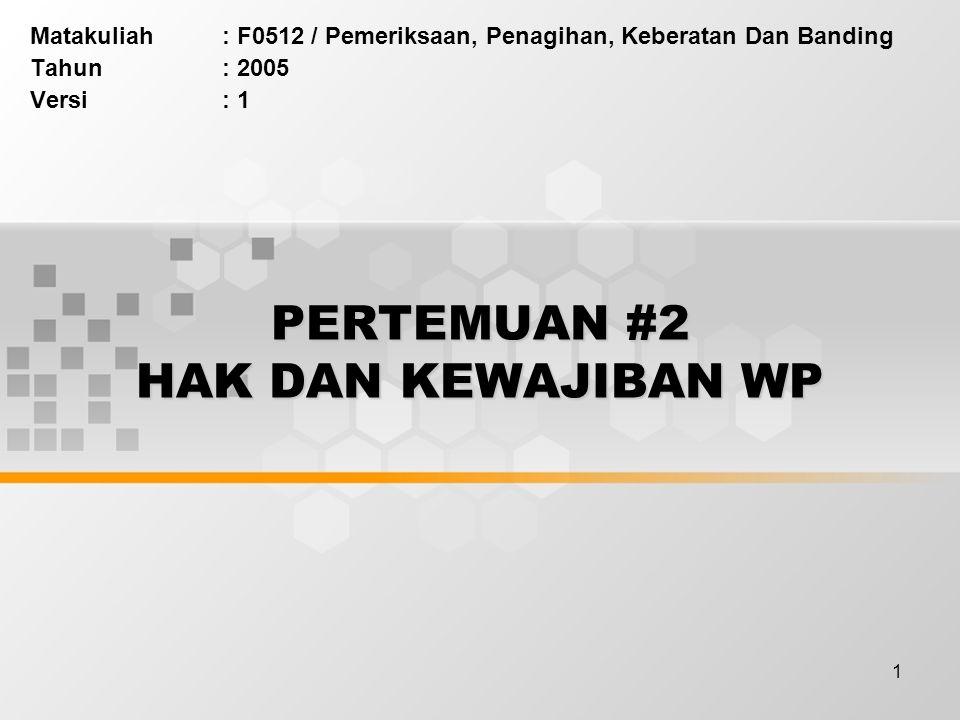 12 SPT …(contd.) Prosedur pelaporan SPT.