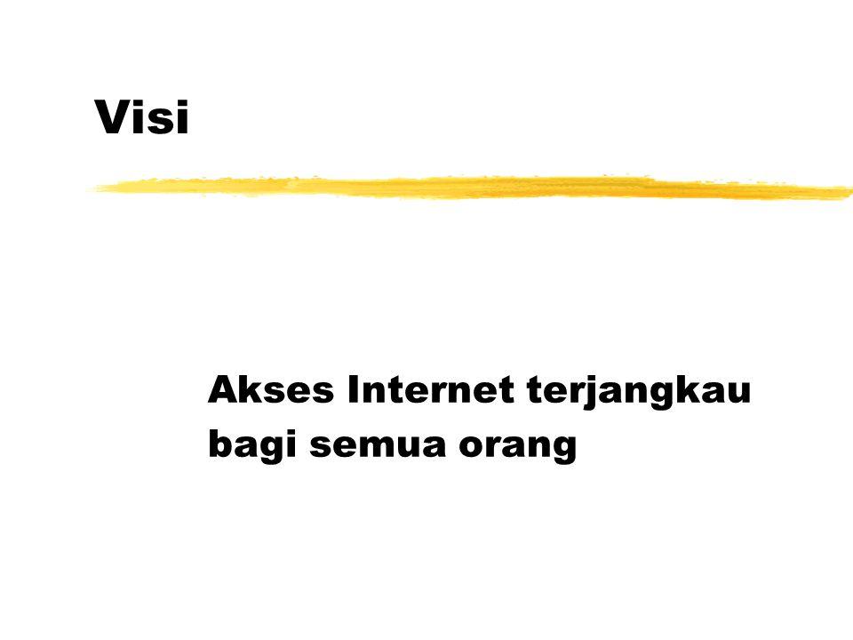 Visi Akses Internet terjangkau bagi semua orang