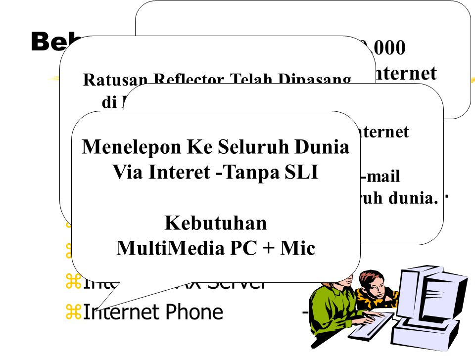 Beberapa Servis Internet ze-mailcnrg@itb.ac.id.