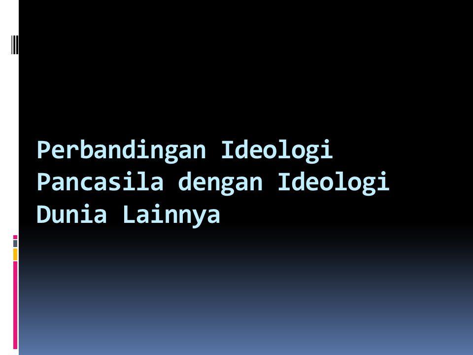Kelebihan dan Kekurangan Pancasila Sebagai Ideologi 2. Kekurangan : Memberi kesempatan kebebasan yang cenderung menjadi anarki Adanya kemungkinan masu