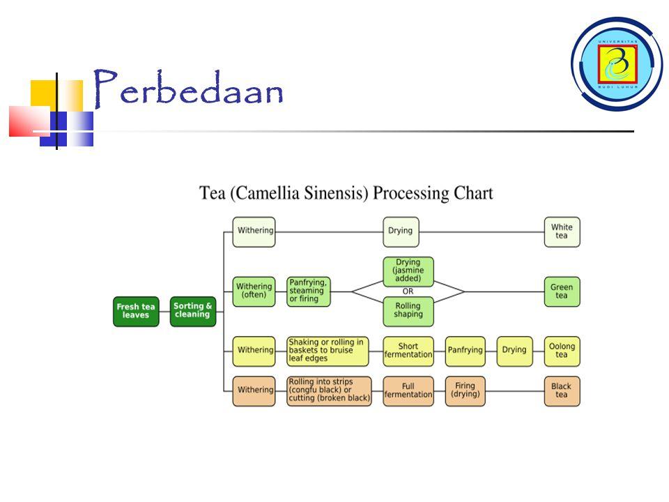 TEH Hitam TEH Hitam adalah Teh yang di fermentasi.Daunnya dilayukan dan digulung seperti teh oolong.