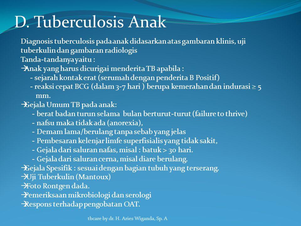 Bagan 1. Alur Diagnosis Tuberculosis Paru pada orang Dewasa tbcare by dr. H. Aries Wiganda, Sp. A