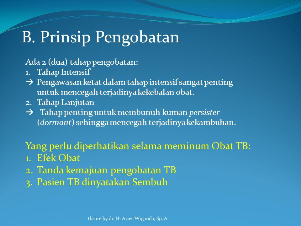 A.Jenis dan Dosis OAT tbcare by dr. H. Aries Wiganda, Sp.