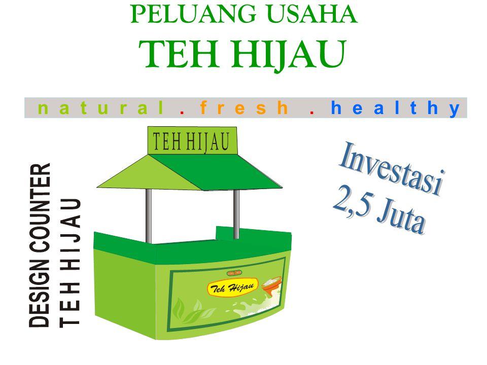 T E R I M A K A S I H green food groups TEH HIJAU Sanusi Abdullah Phone ; (021) 97064170, Mobile ; 085723582698