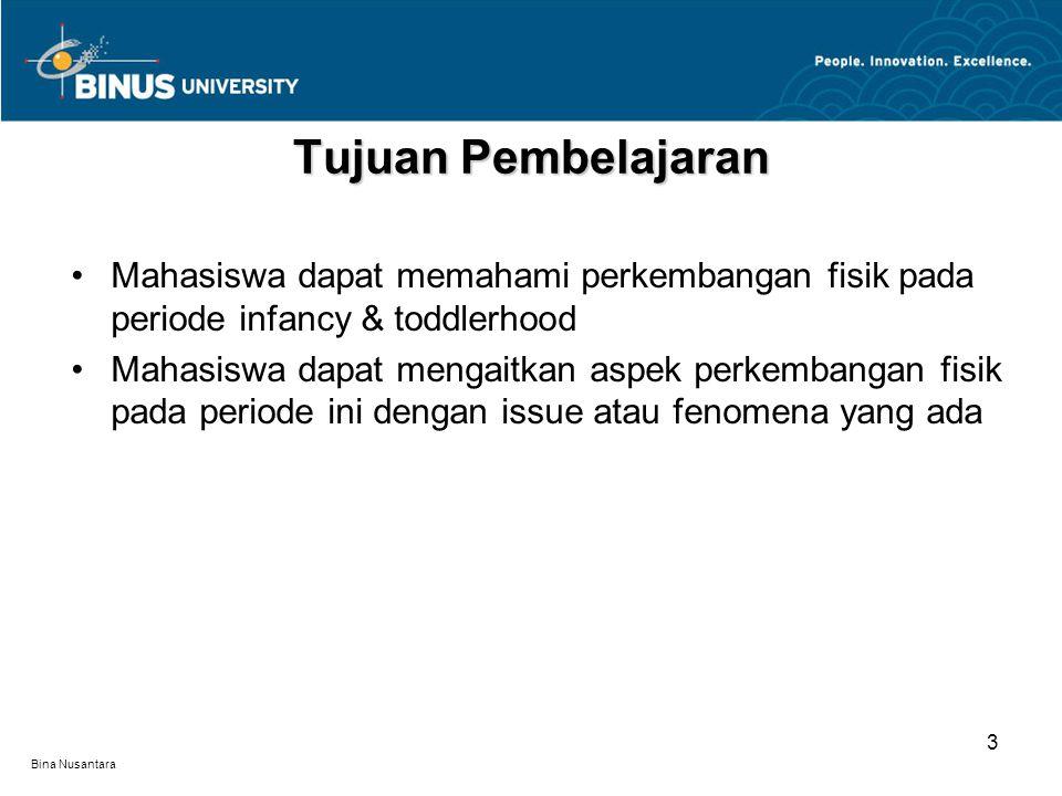 Bina Nusantara Issue Seputar Kesehatan Bayi Meskipun sebagian besar bayi lahir dengan sehat, namun ada yang terluka saat proses kelahiran.