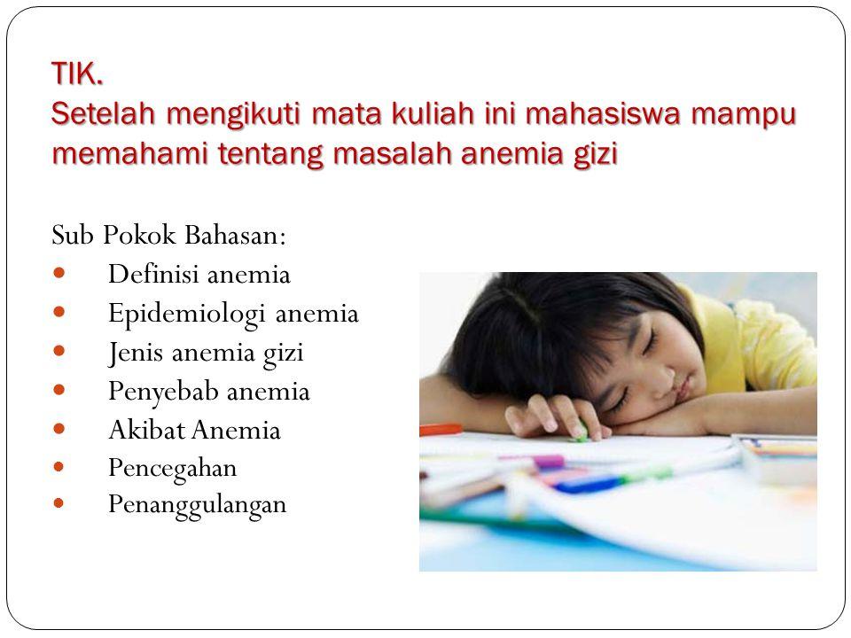 Anemia Asam Folat