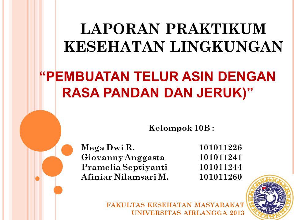 LATAR BELAKANG Standar Nasional Indonesia (SNI) Telur asin ini merupakan standar nasional yang disusun selain untuk melindungi konsumen dari segi kesehatan dan keselamatan, untuk melindungi produsen dan mendukung perkembangan industri hasil peternakan.