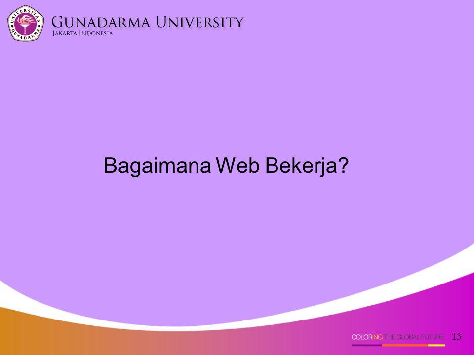 13 Bagaimana Web Bekerja?