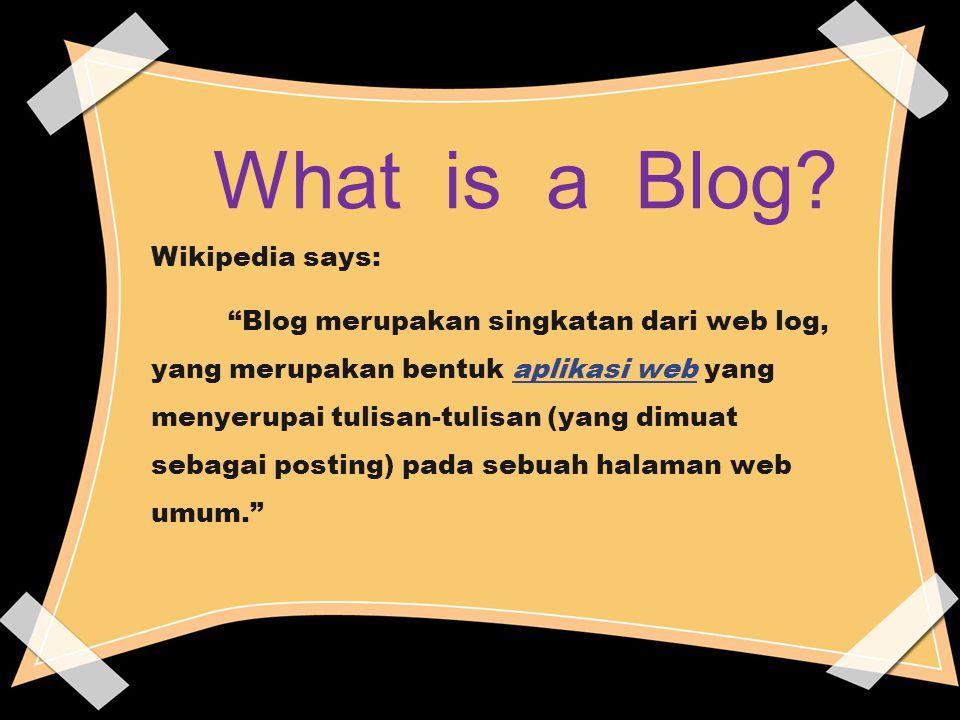 Komunitas Blog.