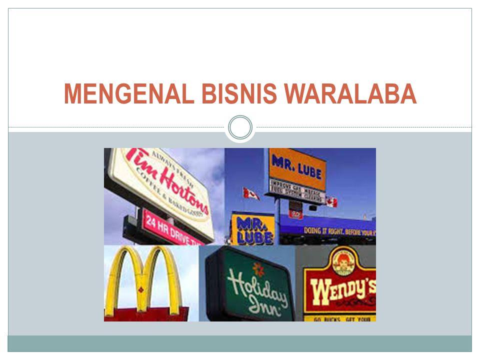 MENGENAL BISNIS WARALABA