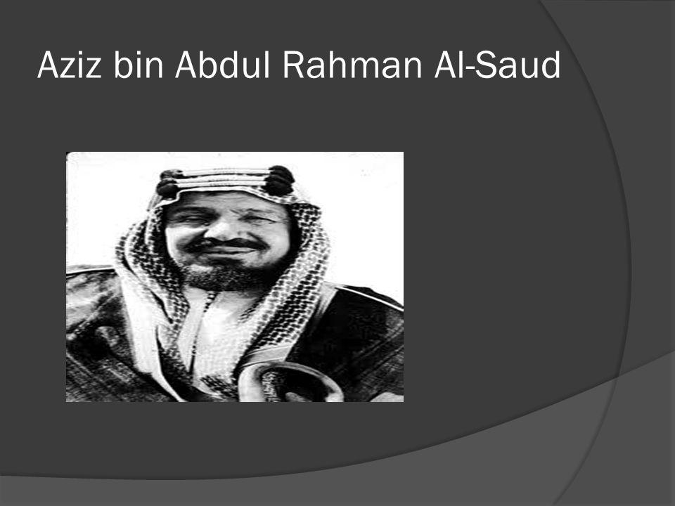 Periode kekuasaan raja Arab Saudi: 1902 - 1953 Raja Abdul Aziz bin Abdul Rahman Al- Saud (1876-1953).