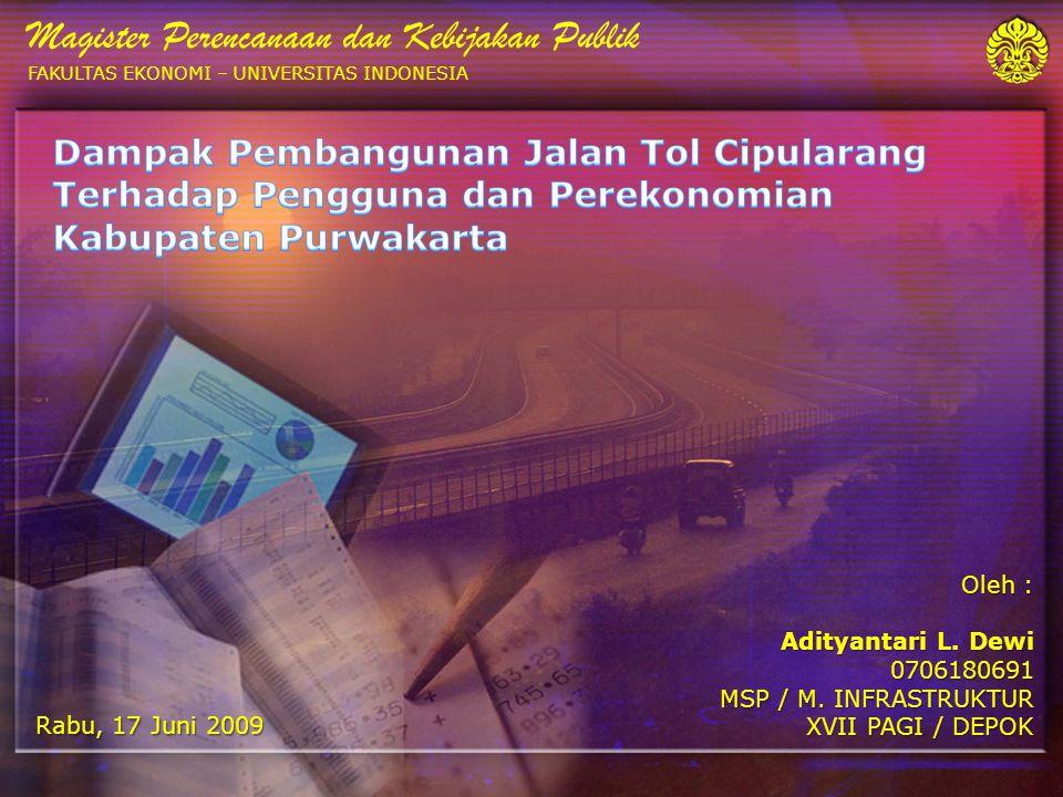 1 Oleh : Adityantari L.Dewi 0706180691 MSP / M.