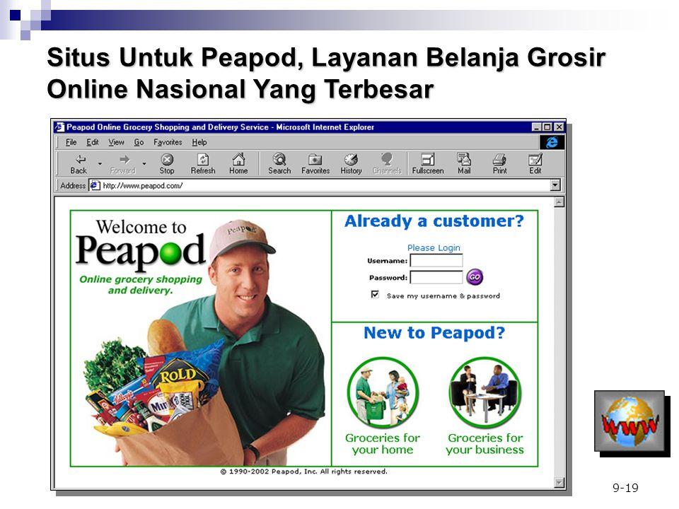 9-19 Situs Untuk Peapod, Layanan Belanja Grosir Online Nasional Yang Terbesar