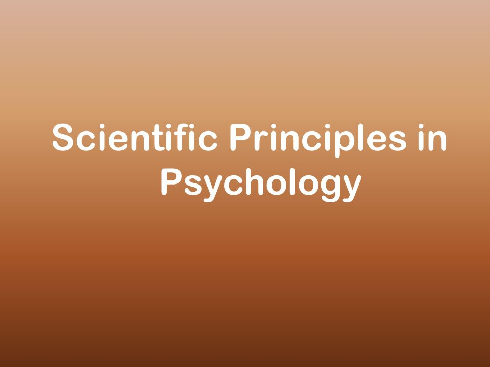 Ethical Principles in Research