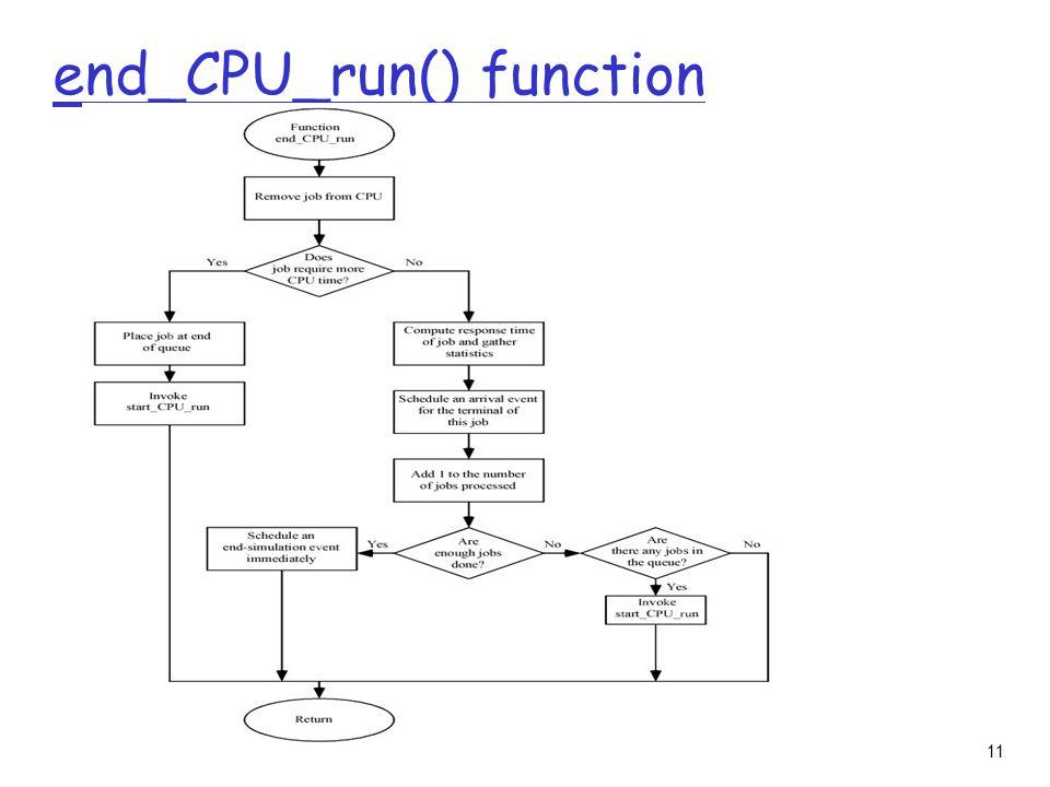 11 end_CPU_run() function