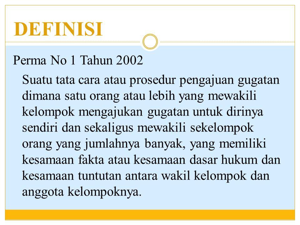 REFERENSI − Perma No 1 Tahun 2002 − DR.