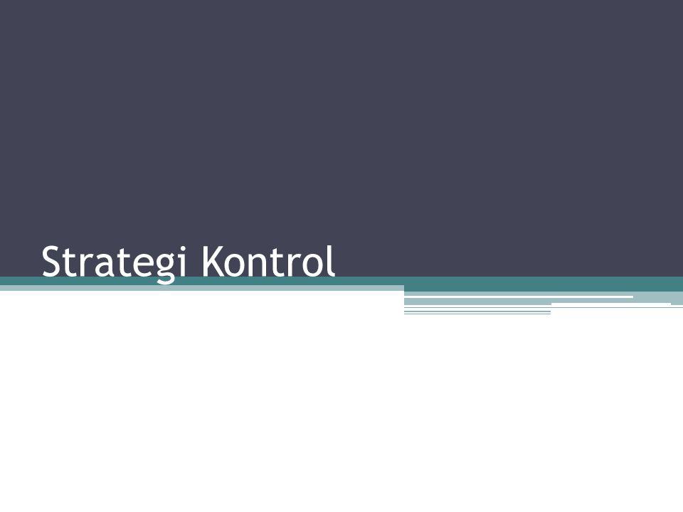 Strategi Kontrol