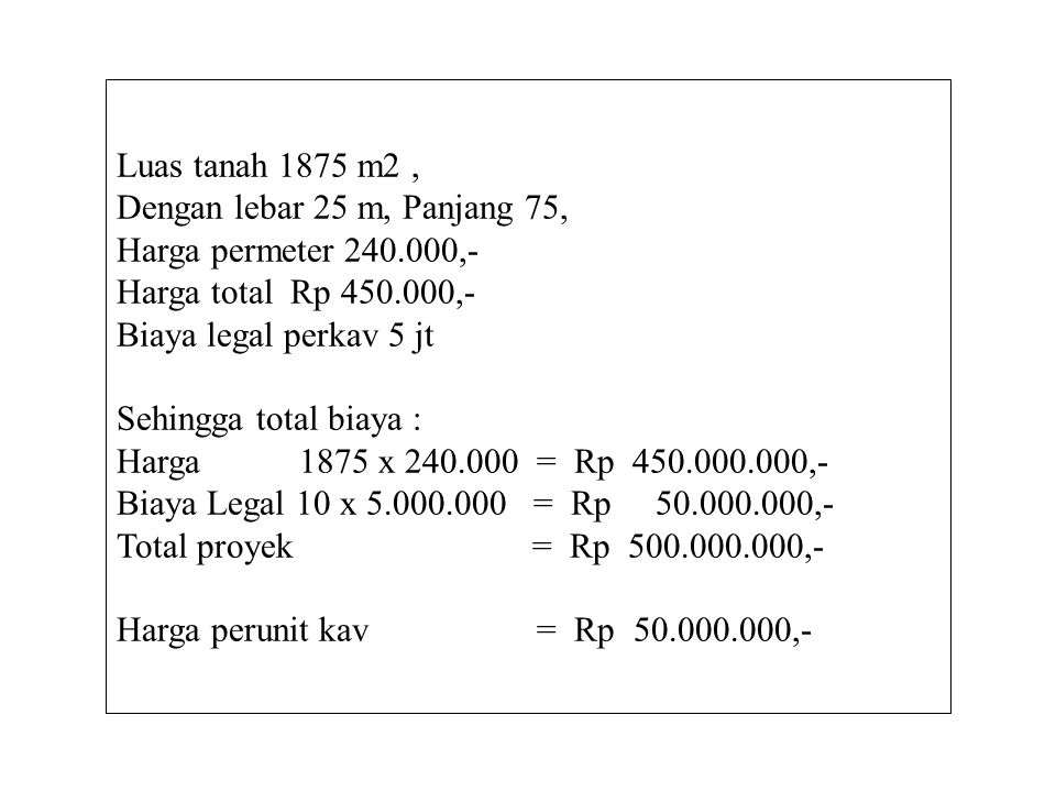 1 150m2 2543 6 150m2 71098 Kav. Alam Persada Jl. Tajem Wedomartani 75 m 25 m 15 m 10 m