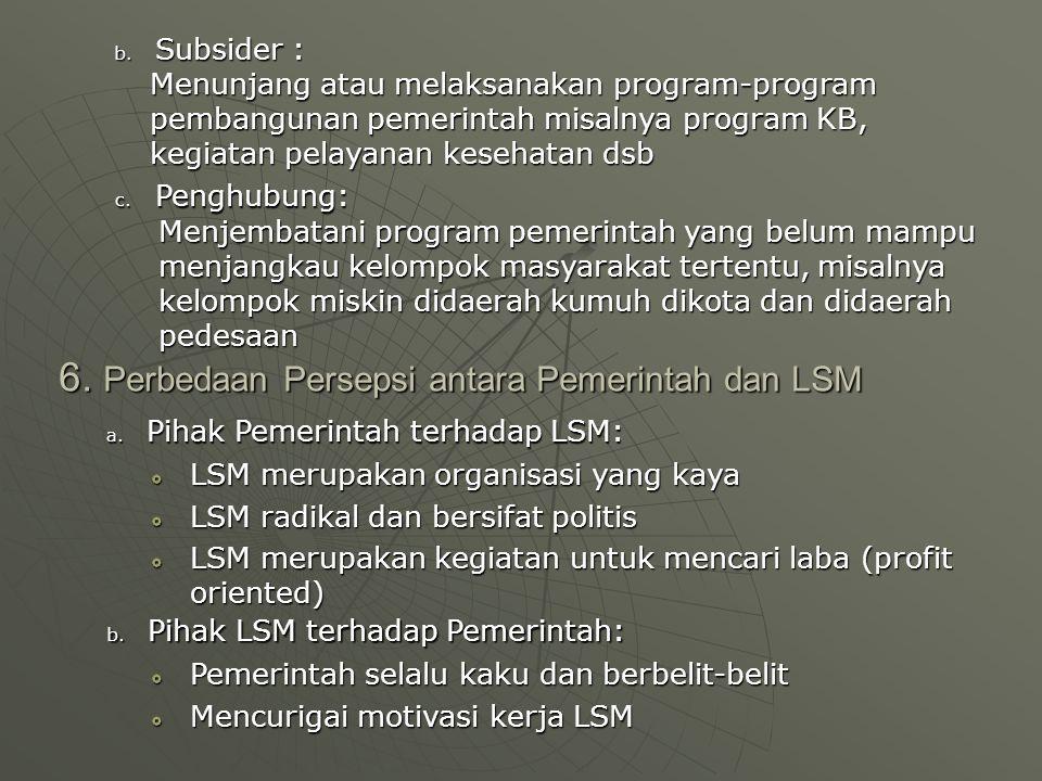 7.Latihan Soal 10 1.Jelaskan mengapa LSM pada umumnya menggunakan pendekatan non-direktif 2.