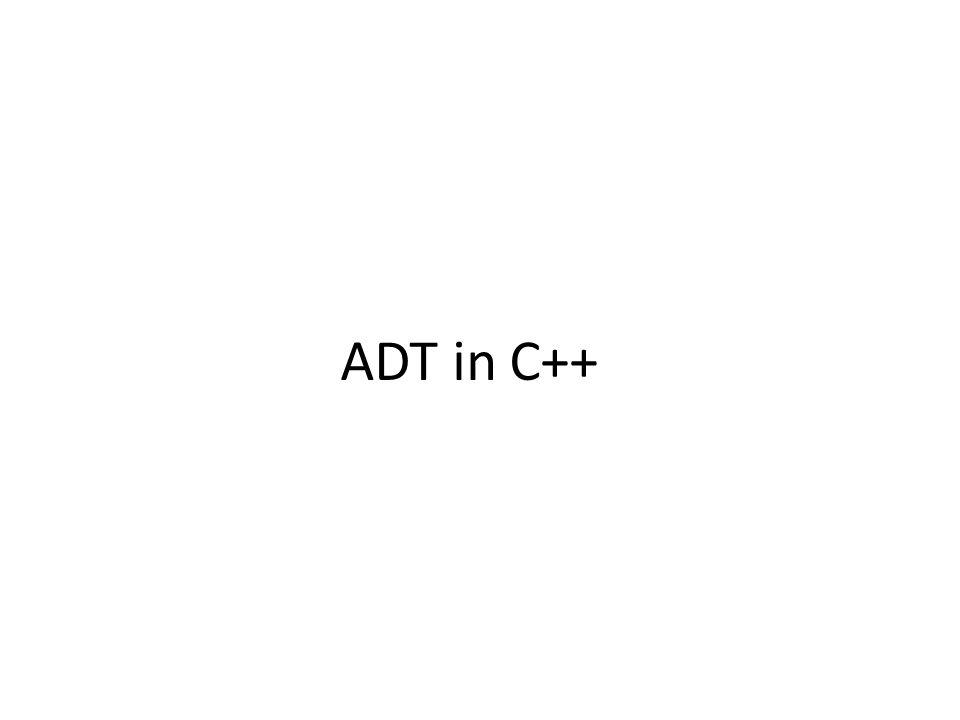 Abstract Data Type (ADT) in C++ Diimplementasikan oleh Standart Template Library(STL) ADT Container di C++ terdiri dari 3 macam – Sequence containers => Container yang tersusun berderet-deret.