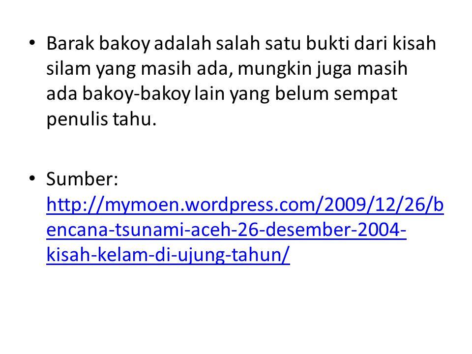 Aspek Ruang Daerah Istimewa Aceh (Nanggroe Aceh Darussalam), tepatnya di Samudra India, 2,9 LU dan 95,6 BT di kedalaman 20 km, di laut berjarak sekitar 149 km selatan kota Meulaboh, Nanggroe Aceh Darussalam
