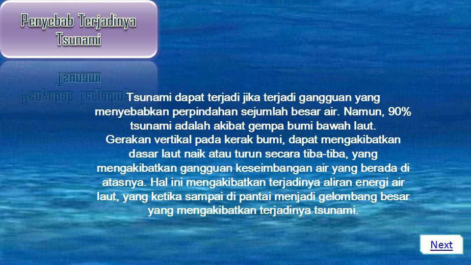 Contoh Tsunami Video