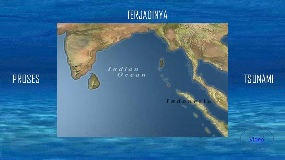 Tsunami dapat terjadi jika terjadi gangguan yang menyebabkan perpindahan sejumlah besar air. Namun, 90% tsunami adalah akibat gempa bumi bawah laut. G
