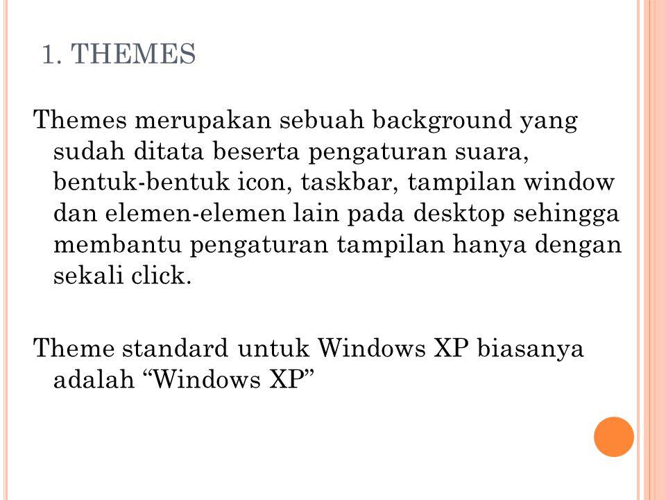 Theme Windows XP : Theme Windows XP (Modified) :