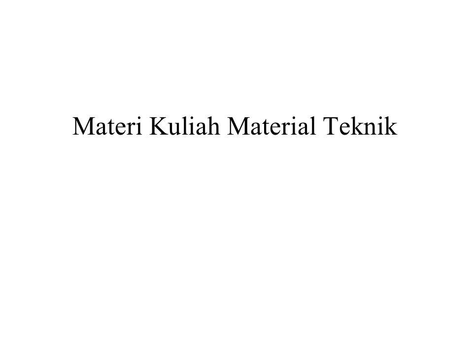 Materi Kuliah Material Teknik