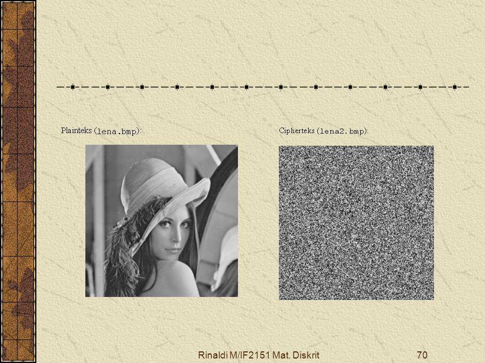 Rinaldi M/IF2151 Mat. Diskrit70