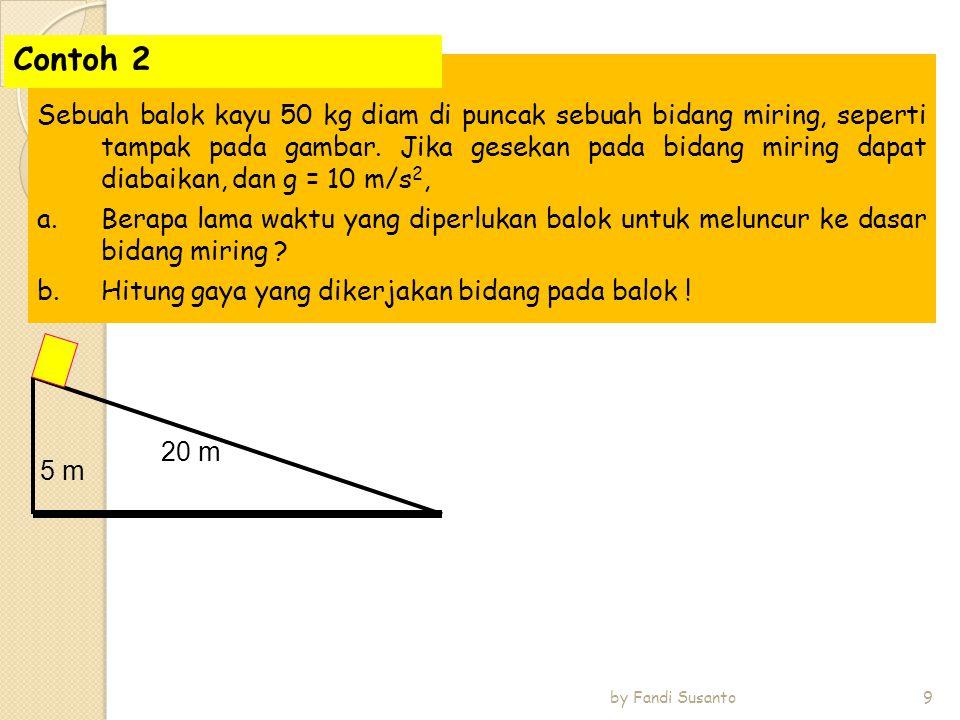 Tentukan T A dan T B dari gambar di bawah ini.