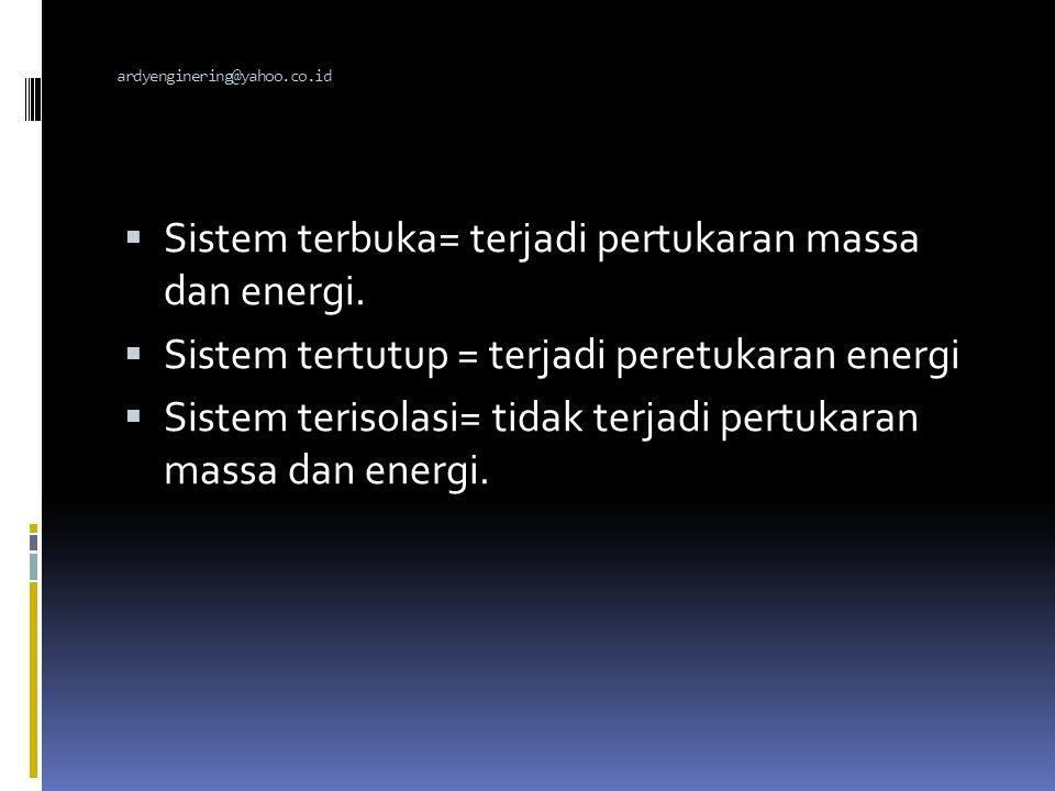 TERMODINAMIKA KIMIA  Ilmu yang mempelajari perubahan'' energi dalam suatu sistem yang menyertai reaksi kimia dan hubungan antara berbagai bentuk enargi.