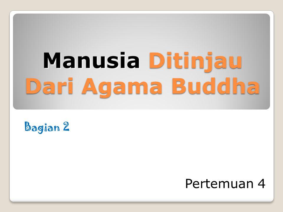Manusia Ditinjau Dari Agama Buddha Pertemuan 4 Bagian 2