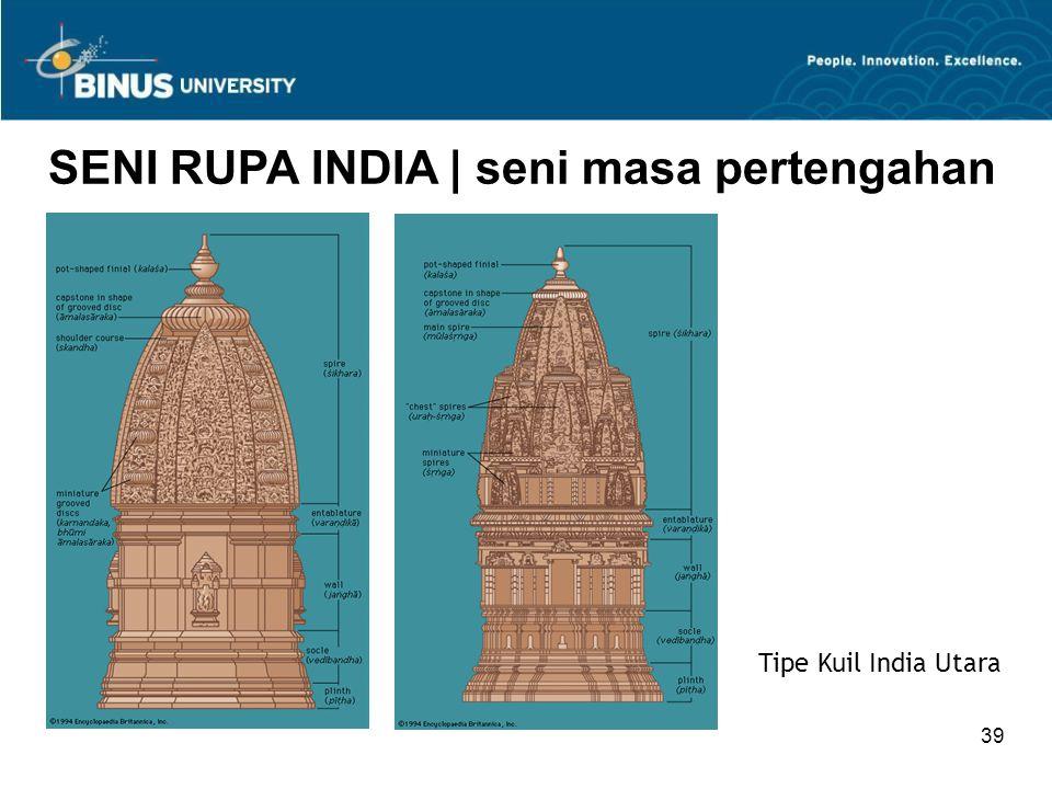 39 SENI RUPA INDIA   seni masa pertengahan Tipe Kuil India Utara
