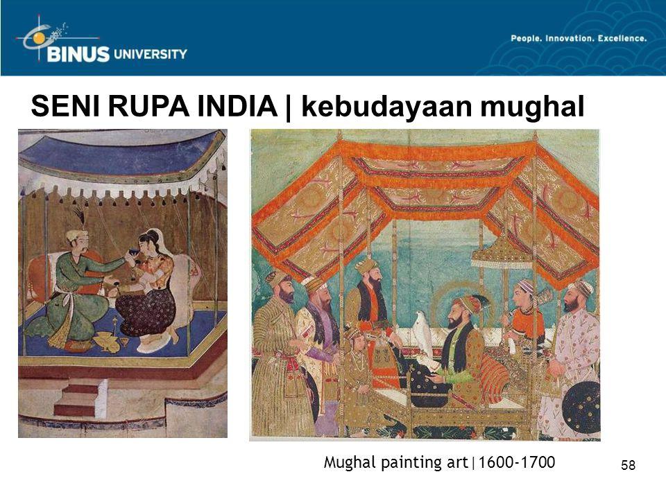 58 SENI RUPA INDIA   kebudayaan mughal Mughal painting art 1600-1700