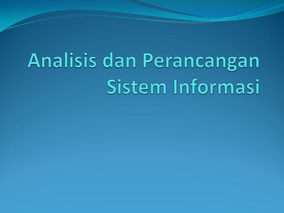 Materi yang disajikan siapa saja yang bermain dalam SI, komponen sistem Informasi, pengembangan SI, manajemen proyek, analisis sistem, penemuan kebutuhan, analisis berorientasi obyek
