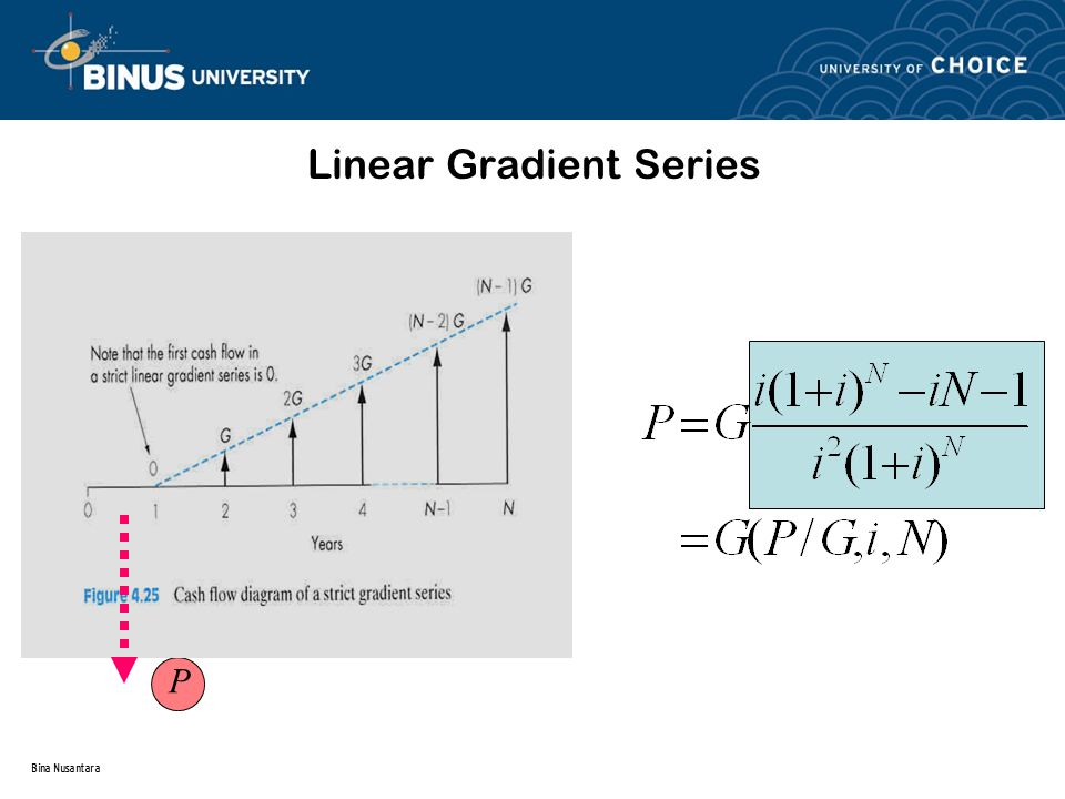 Bina Nusantara Linear Gradient Series P