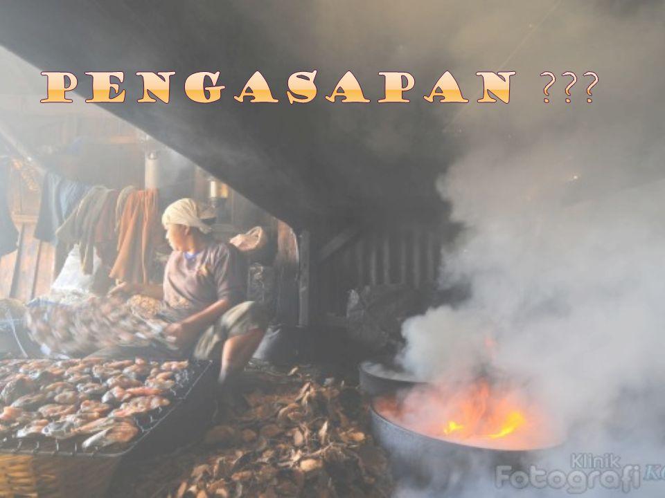  Penggaringan pendahuluan, dalam tingkatan ini bahan makanan mulai mengering karena kontak dengan udara atau uap yang panas.