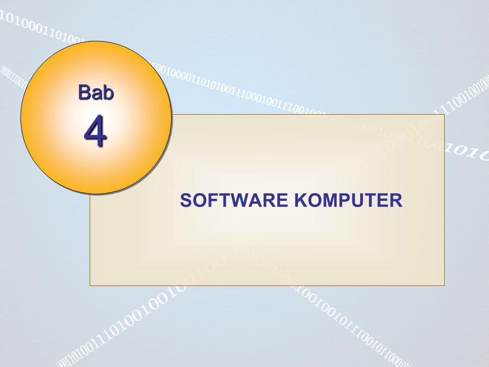 SOFTWARE KOMPUTER Bab 4