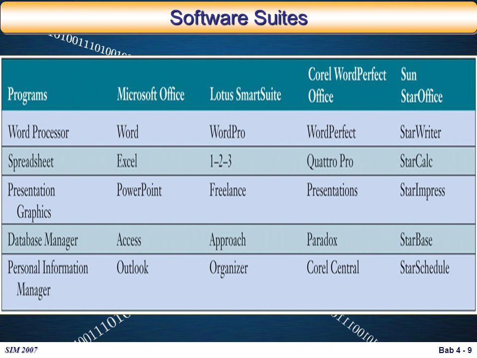Bab 4 - 9 SIM 2007 Software Suites