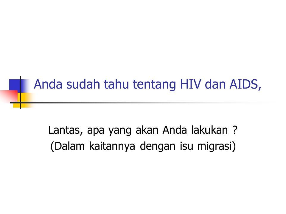 Perlukah mendukung ODHA .