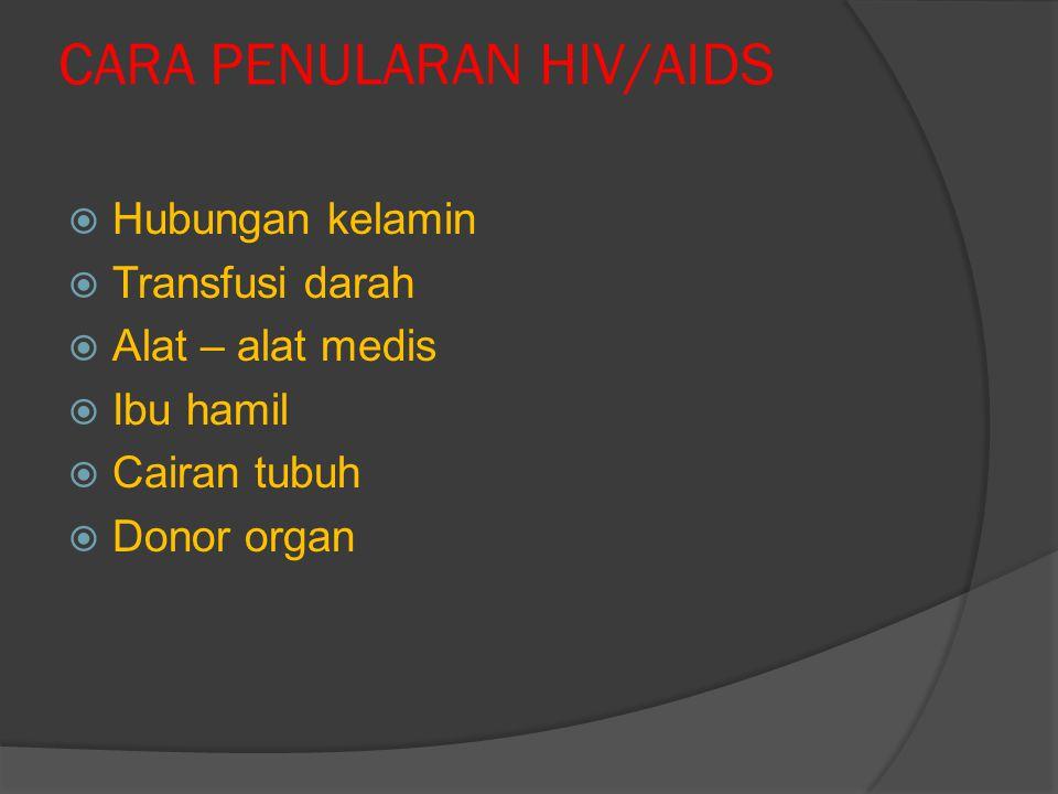 MASA INKUBASI HIV/AIDS  Masa Inkubasi adalah : jangka waktu setelah terjadinya penularan sampai dengan timbulnya gejala penyakit.  Masa inkubasi HIV