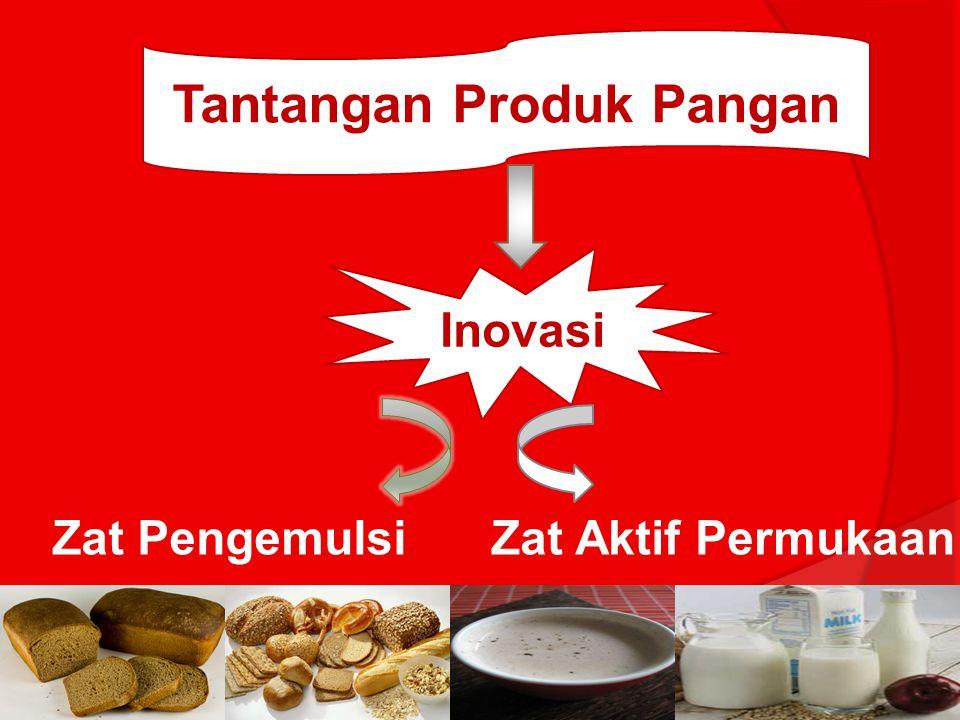 Emulsi pangan pada umumnya tidak stabil (terjadi pemecahan emulsi) Perlu adanya penambahan emulsifier dan stabilizer sehingga emulsi pangan yang dihasilkan lebih baik