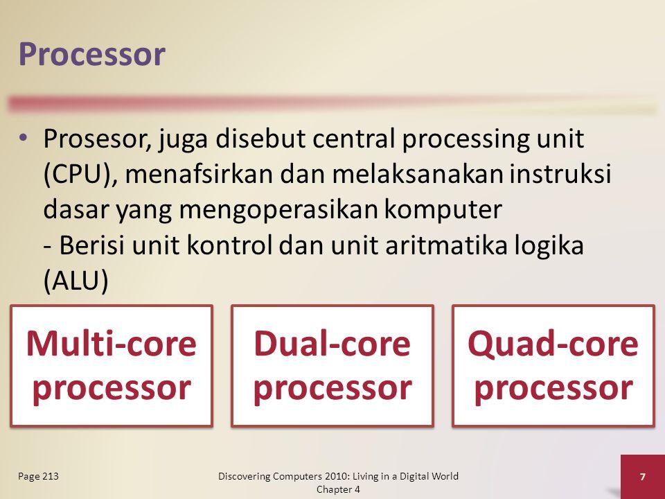 Data Representation Sebuah sirkuit komputer merupakan 0 atau 1 secara elektronik oleh kehadiran atau tidak adanya muatan listrik Delapan bit dikelompokkan bersama sebagai satu unit disebut byte.