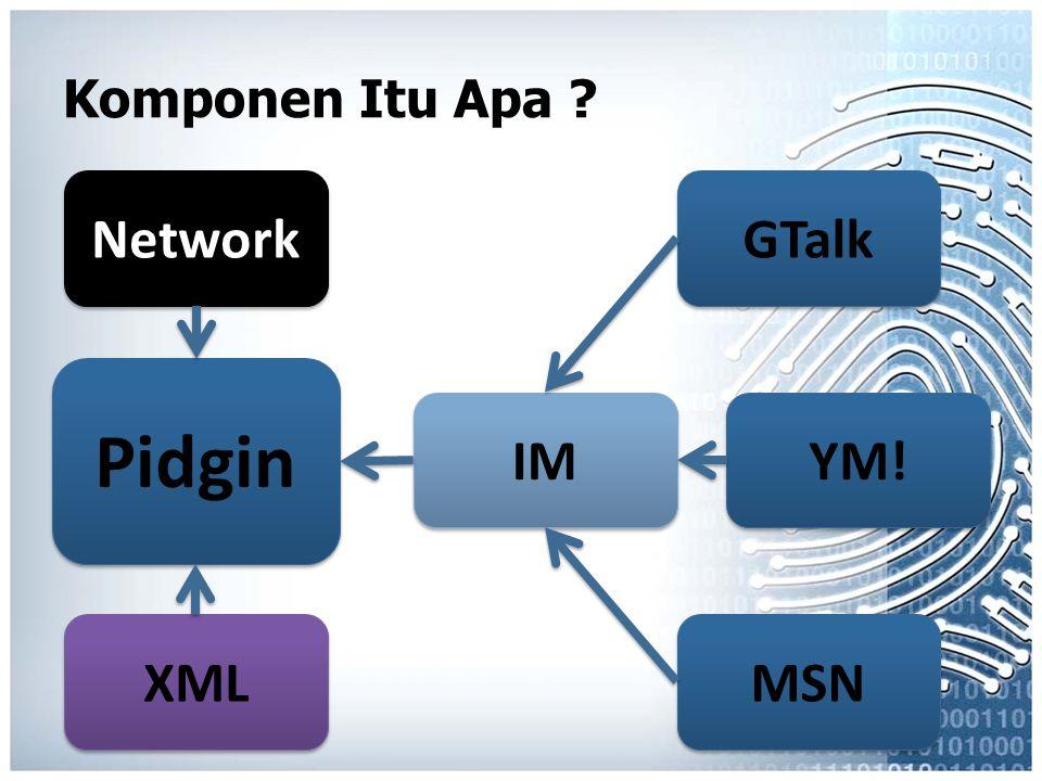 Pidgin Network YM! GTalk IM MSN XML