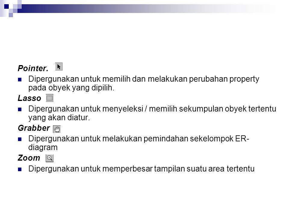 Secara otomatis, relasi jual akan diubah menjadi entity dengan nama Jual.