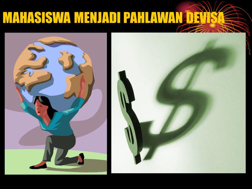 MAHASISWA MENJADI PAHLAWAN DEVISA
