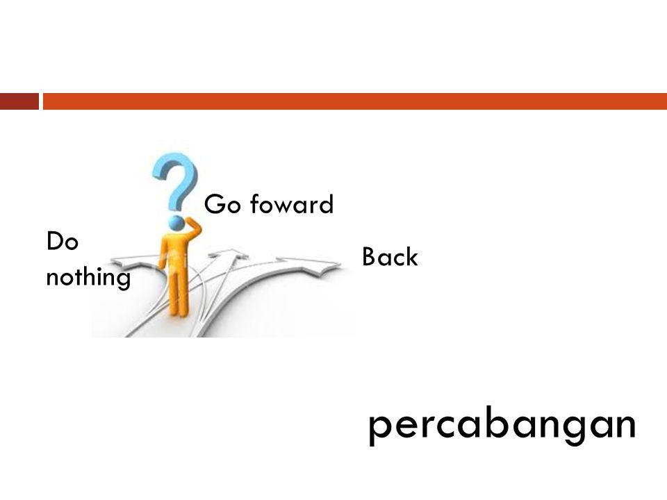 Do nothing percabangan Go foward Back